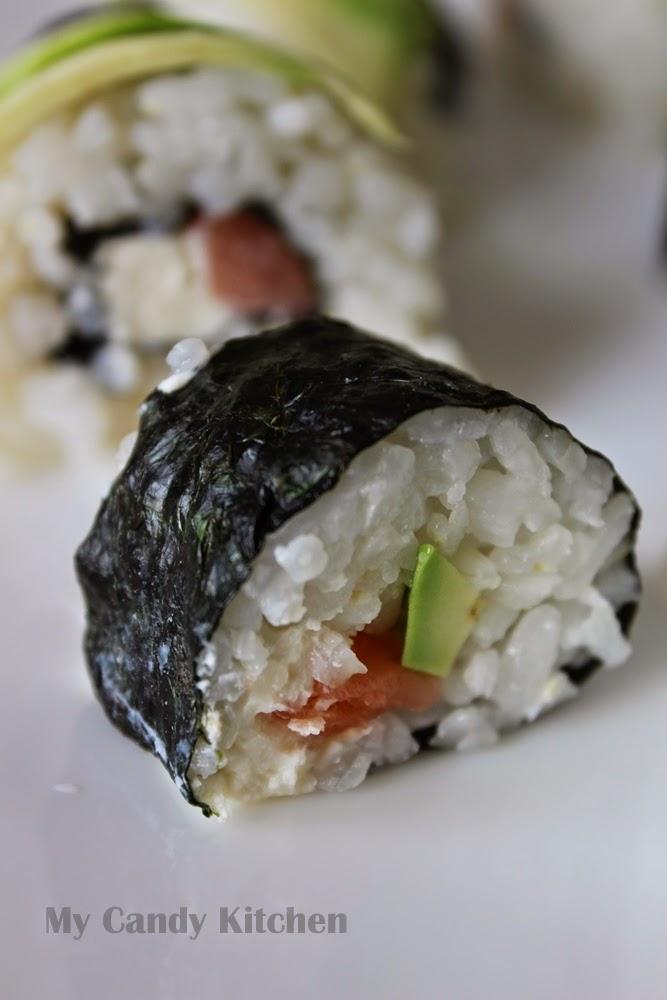 маки суши, малки суши рулца