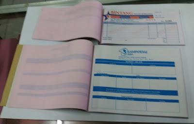 Cetak Nota, Kwitansi, Surat Jalan Paling Murah