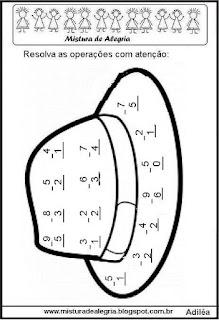 Matemática e festa junina operações