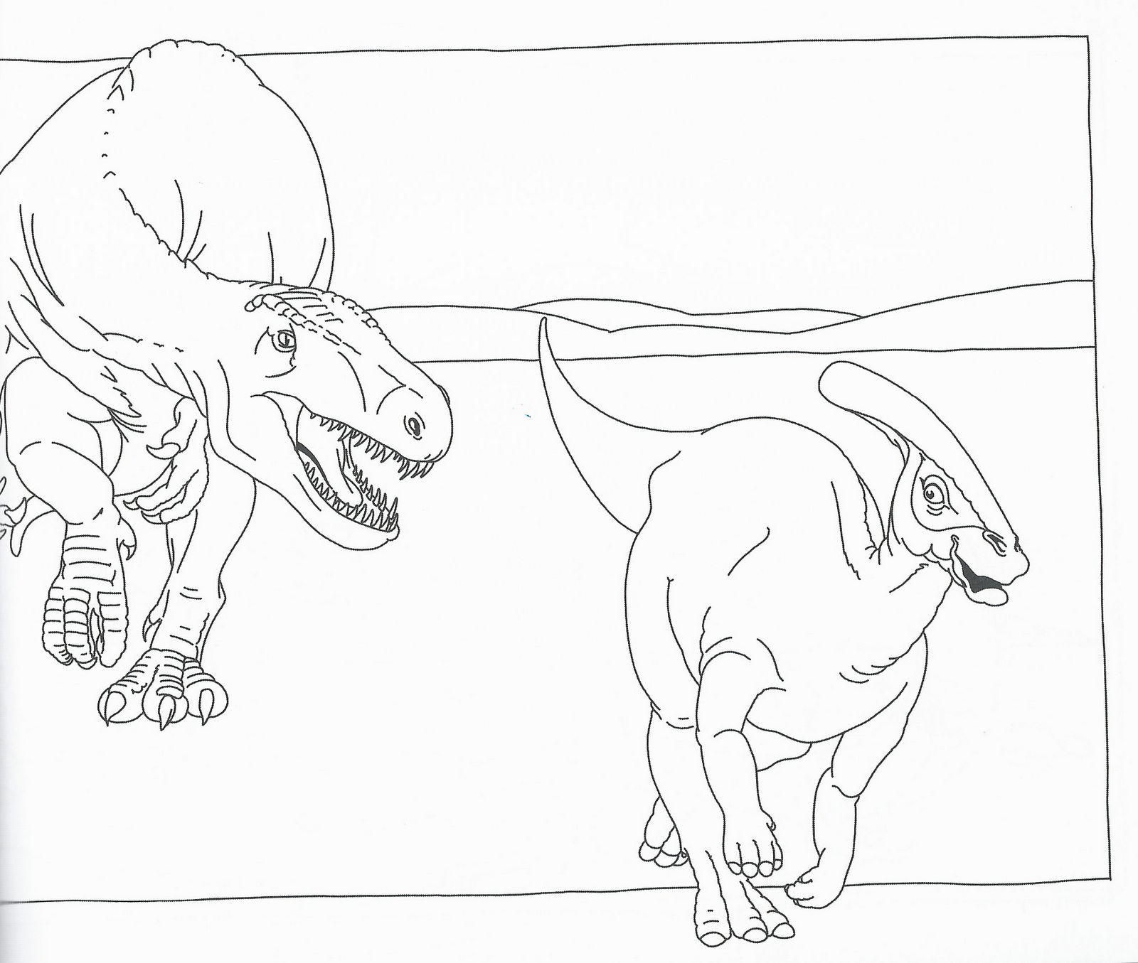Migliori Pagine Da Colorare Nella Categoria Dinosauri