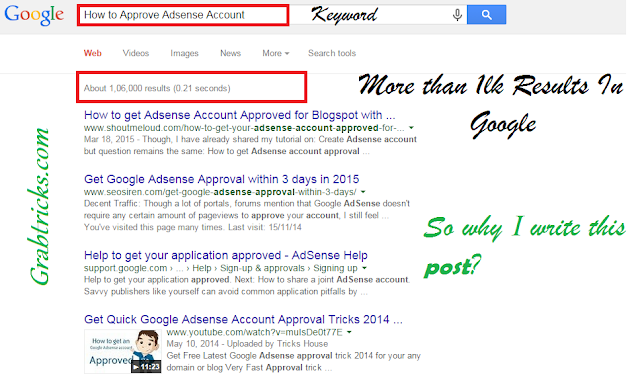 How to Approve Adsense Account