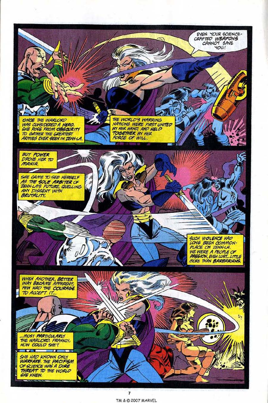 Read online Silver Surfer (1987) comic -  Issue #92 - 9