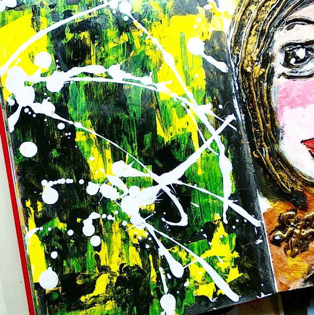 Contoh terapi seni dengan acrylic oleh ewafebri