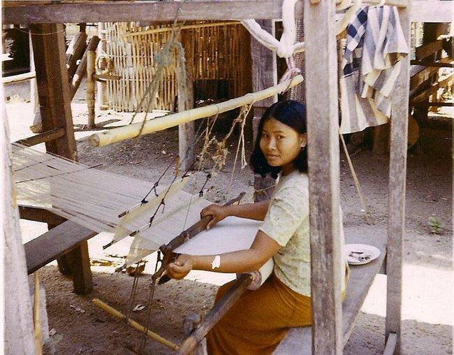 Тайская ткачиха