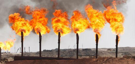 Gas Flaring - Disposing of natural gas keeps prices high