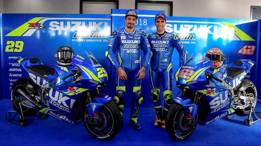 Inilah Motor Suzuki GSX-RR Untuk MotoGP 2018