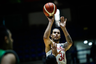 Christian Standhardinger 16 Points Game Against Iraq
