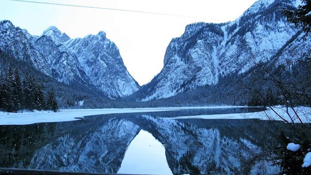 Toblach Dobbiaco Italy Lake