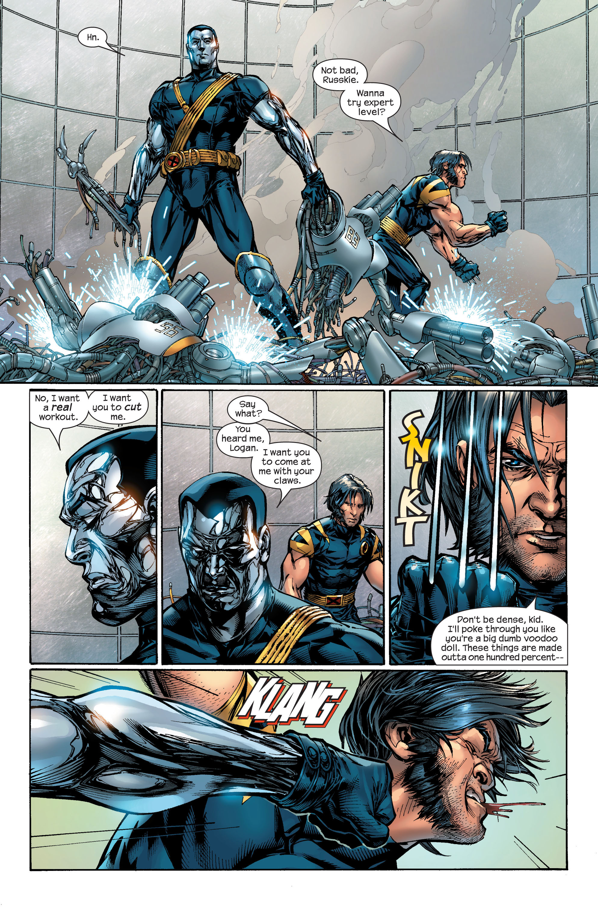Read online Ultimate X-Men comic -  Issue #46 - 9