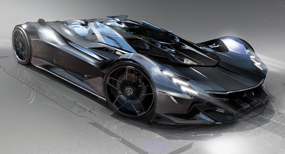 Shelby Cobra Hypercar Looks Like A Futuristic Batmobile Techeblog