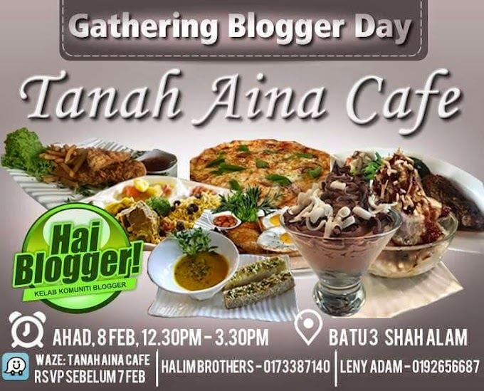 Pengalaman Pertama Sertai Gathering Blogger Day 2015