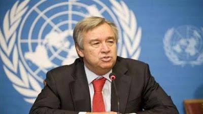 """الأمين العام الجديد للأمم المتحدة في السعودية حاليا ويخطط للقاء """"السيسي"""""""