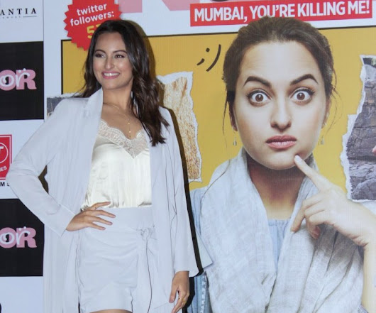 Sonakshi Sinha in Lavish Alice at Noor trailer launch