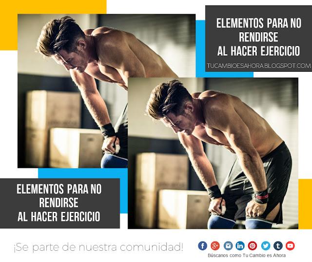 Cómo perseverar para hacer ejercicio