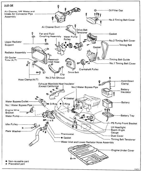 2jz Engine Diagram - TSB Wiring Diagrams