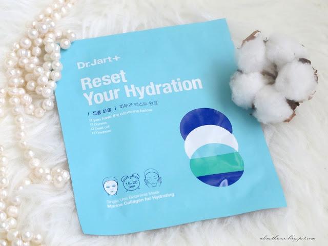 Dr. Jart+ Reset Your Hydration Увлажняющая маска с морским коллагеном отзыв