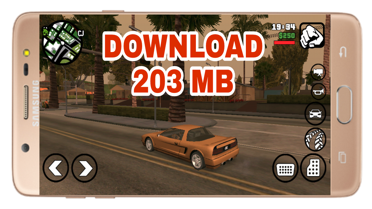 Download GTA San Andreas Lite for android  Game Jozzz Free