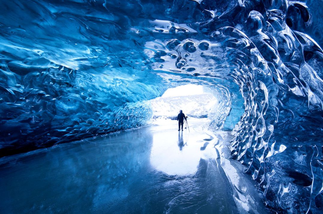 A beautiful Glacier Cave in Iceland | Knowledgeable Ideas! ツ