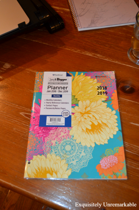 See It Bigger Plan Ahead Planner