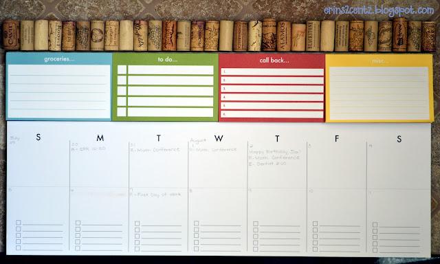 Pottery Barn calendar