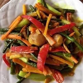 Resep Vegetarian Sayur Acar Kuning