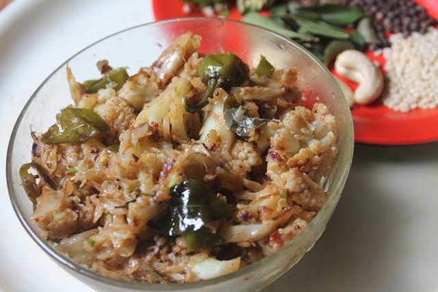Cabbage Cauliflower Sabzi Recipe - Cabbage with Gobi Recipe