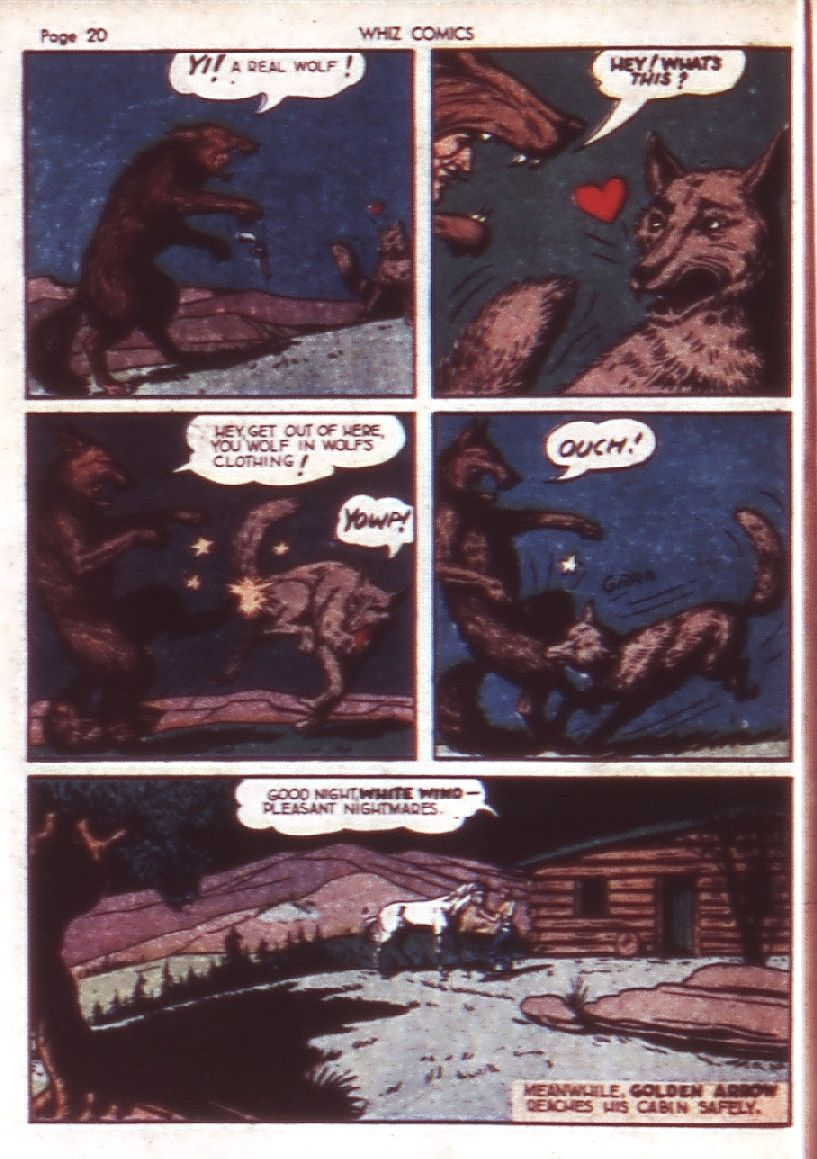WHIZ Comics issue 23 - Page 22