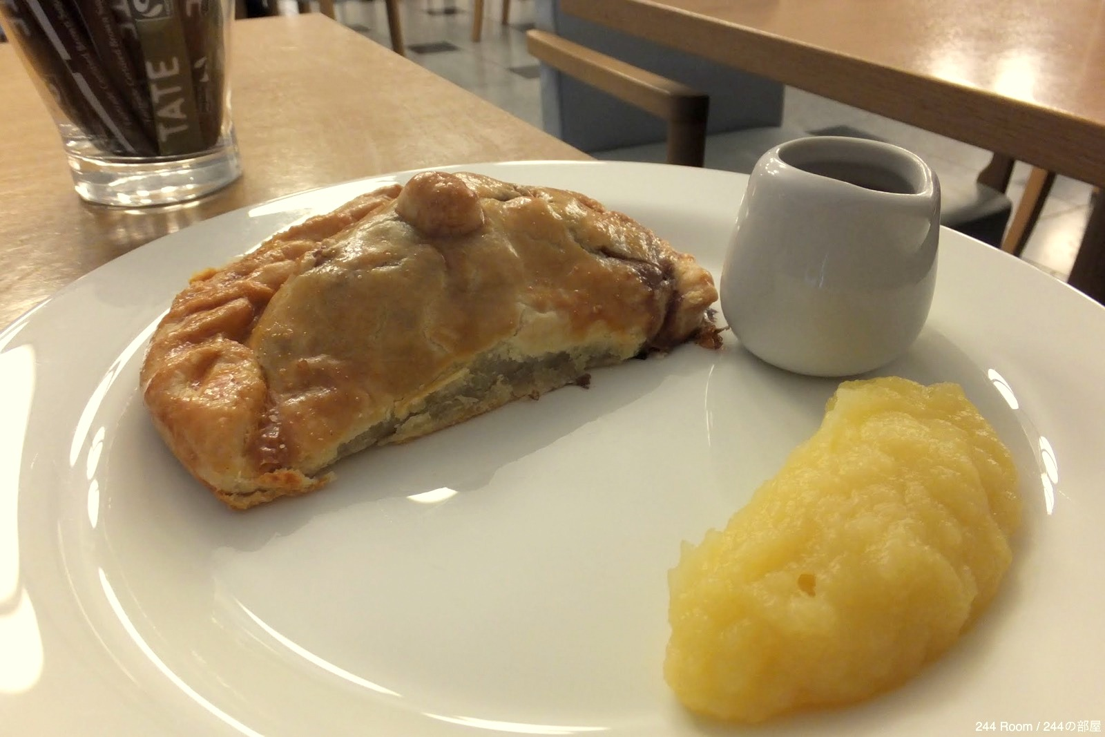 Beef-pie イギリスのビーフパイ