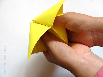 гадалка оригами мастер-класс