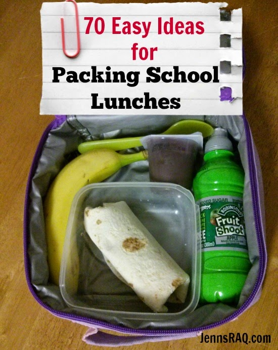 Easy Ideas for Packing School Lunches