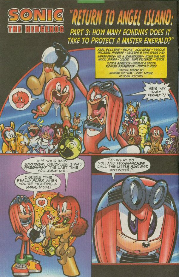 Read online Sonic The Hedgehog comic -  Issue #140 - 3