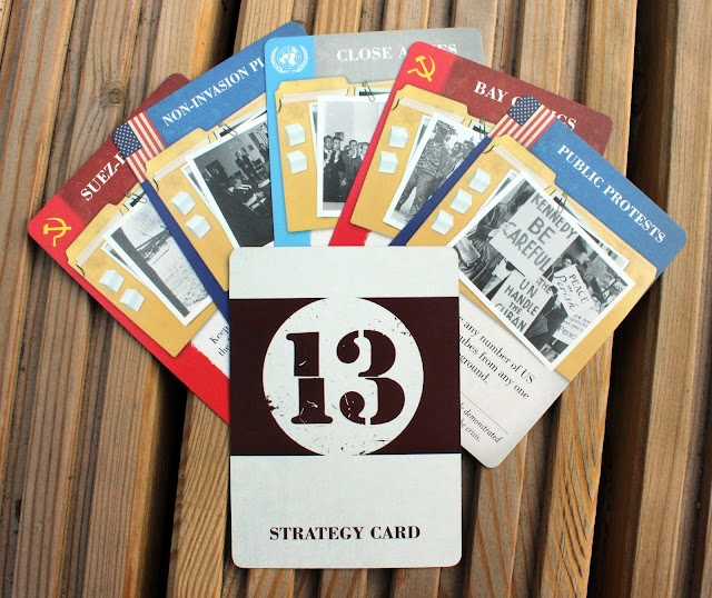 13 Days - strategy cards