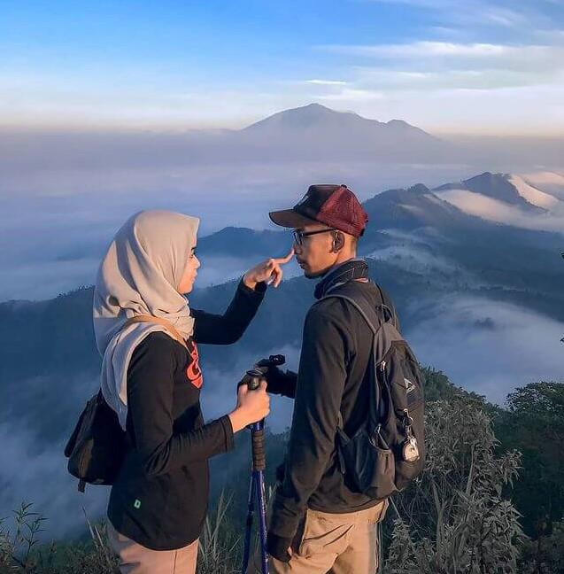 pendaki gunung itu cocok jadi pasangan karena ini - foto instagram nunurizqoni22