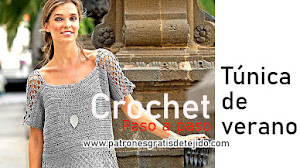 Cómo Tejer Túnica de Verano a Crochet