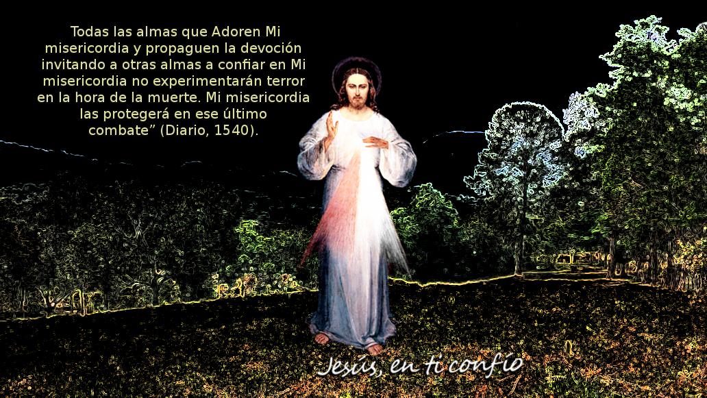 promesas de jesus misericordioso