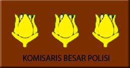 Lambang Pangkat Komisaris Besar Polisi (Kombes Pol)