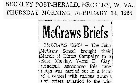 Today in McGraws History. . .