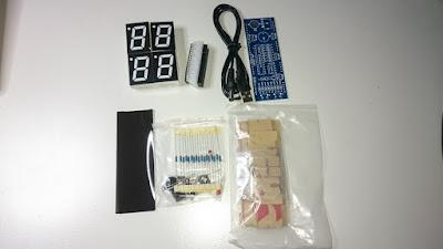 OH2DD DIY radioamatööri hamsack kello osina
