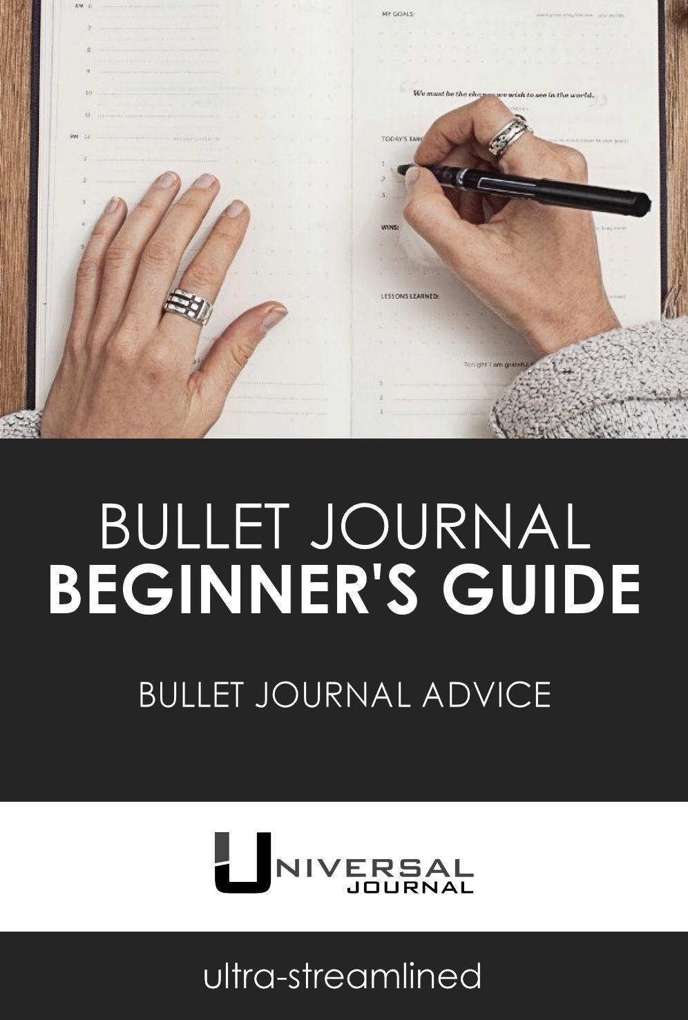 bullet journal beginners guide