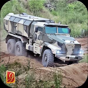 لعبة قيادة الجيش تفتيش شاحنة