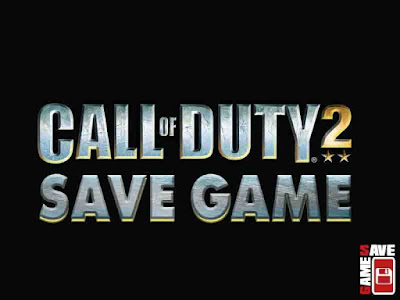call of duty 2 save game