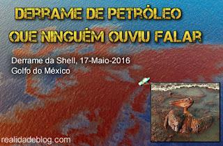 derrame óleo shell golfo mexico