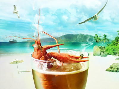 Crab Funny Standard Resolution HD Wallpaper