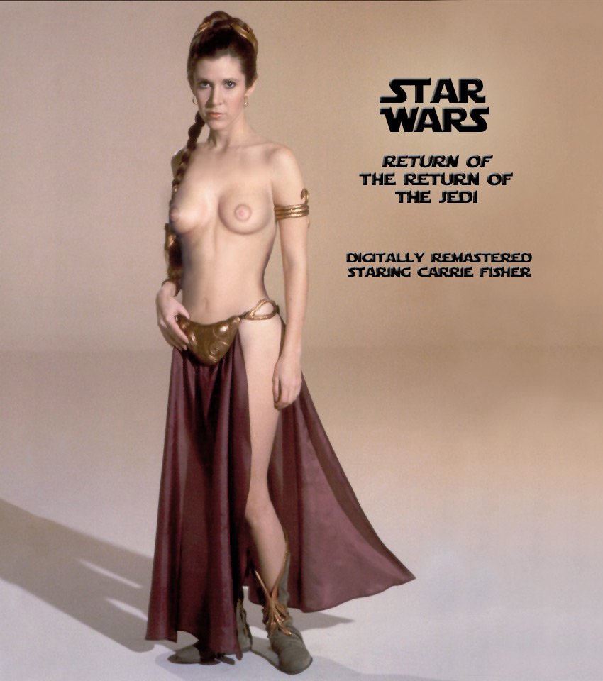 carrie fisher naked pictures
