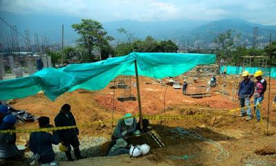 Tumbas de 2000 anos são encontradas na Colômbia