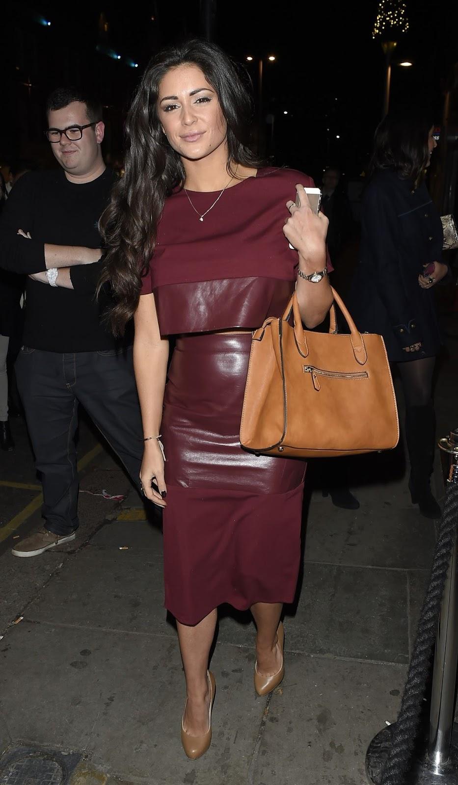 Casey Batchelor Leaves Raffles Club In Chelsea