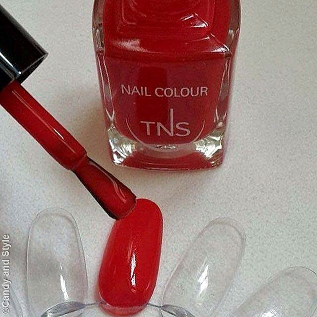 TNS Cosmetics Rosso Dania Limited Edition Nail Lacquer