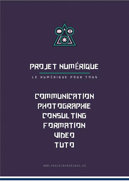 projet numerique couverture magazine