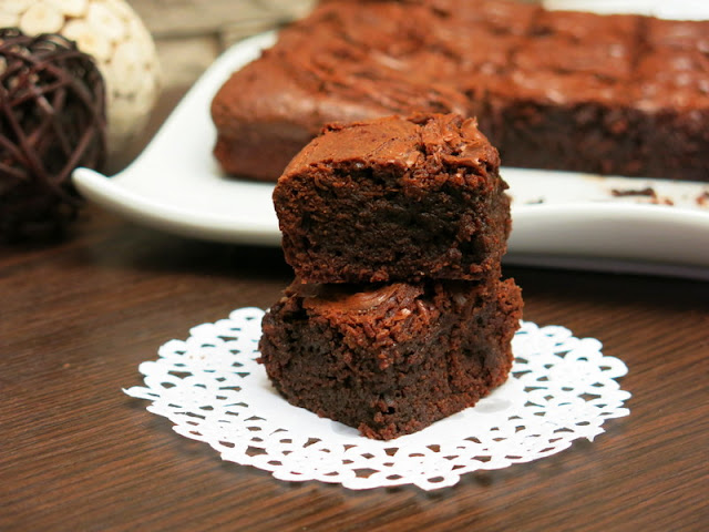 BROWNIE DE CHOCOLATE CON NOCILLA