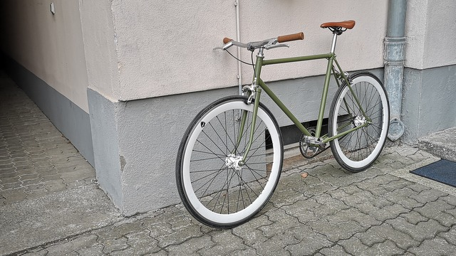 DIY nach Umbau neues Fixie Singlespeed Bike